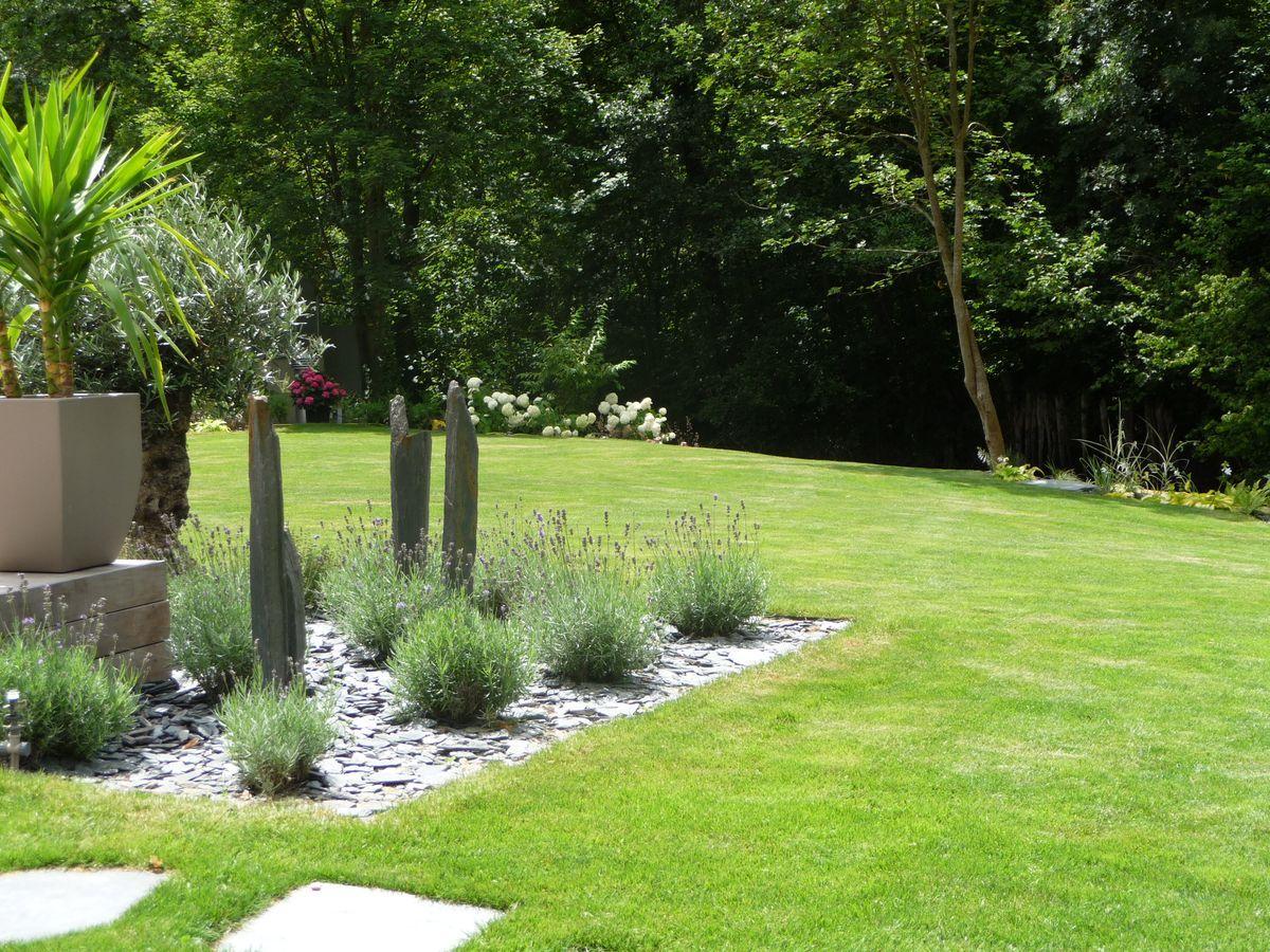 Piquet En Ardoise Bois Jardin ledoux jardin, cultur design, référence dans l'aménagement