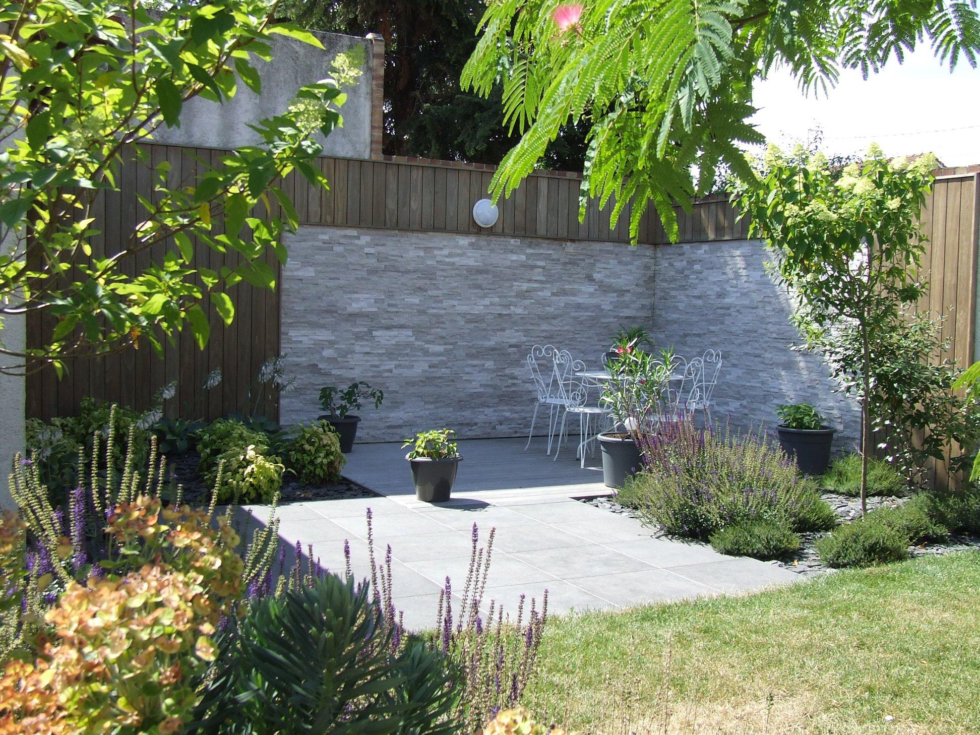 Ledoux jardin - terrasse